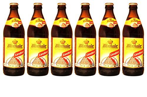 Brauerei Wiethaler - Landbier (6 Flaschen) I Bierpaket von Bierwohl