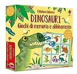 Dinosauri. Giochi di memoria e abbinamento. Con Carte. Con Prodotti vari