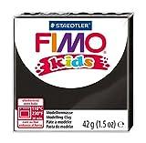 Fimo-8030-9 ST Pasta de modelar, Color Negro, Pack de 1 (Staedtler 8030-9)