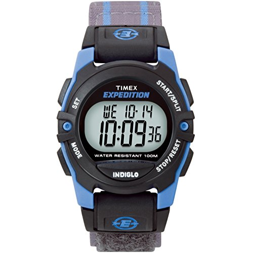 Timex Expedition Unisex-Armbanduhr Timex Expedition Chrono Alarm Timer Digital Textil T49660