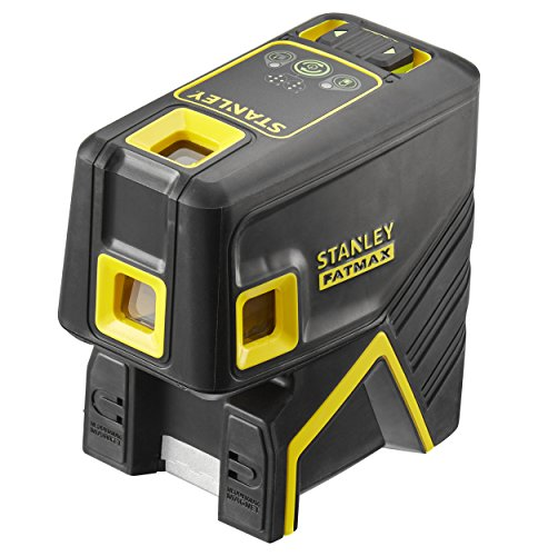 STANLEY FMHT1-77437 - Nivel laser de 5 puntos, verde, alcance de 45m