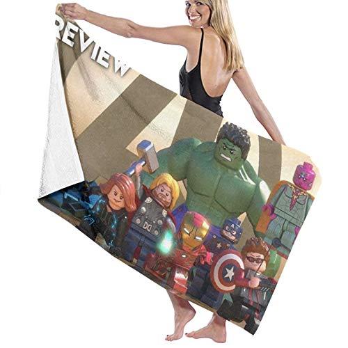 Marvel Super Heroes Quick Dry Beach Towel Travel Microfiber Bath Towel...
