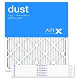 AIRx Filters 21.5x23.5x1 Air Filter MERV 8 Pleated HVAC AC Furnace Air Filter, Dust 6-Pack, Made in the USA