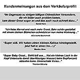 TPK Baby Groot Blumentopf Figur – Übertopf Groß Aquarium Deko Figur Holz Aschenbecher Stiftehalter – Innen - 6