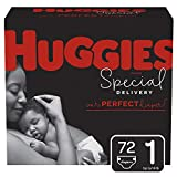 Huggies Special Delivery Hypoallergenic Baby Diapers, Size 1 (8-14 Lbs.), 72 Count
