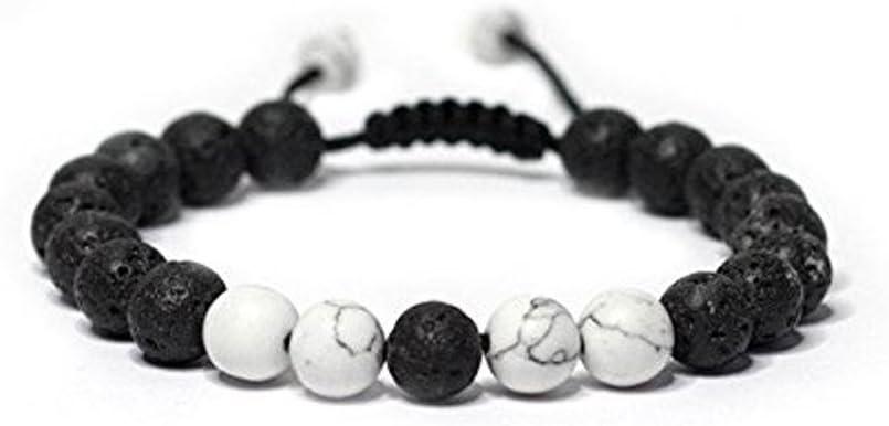 tube stones foil lampwork magnetic ball closure JB048 silver spacers Lavendar Bracelet bicone beads