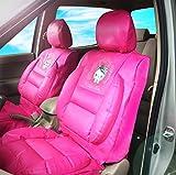 Hello Kitty - Fundas de asiento para coche (edición de PVC, par)