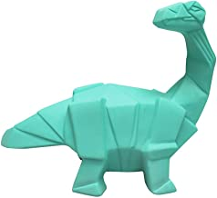 Kleine/Mini Dinosaurus Lamp Groene Origami Diplodocus LED Nachtlampje door Ramp Ontwerpen