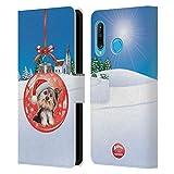 Head Case Designs Officiel Animal Club International Chien 2 Boules de Noël Coque en Cuir à...