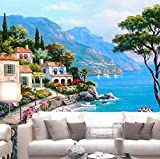 FVeng LIN Carpet Papel Pintado Personalizado 3D Foto Grande Mural mar...