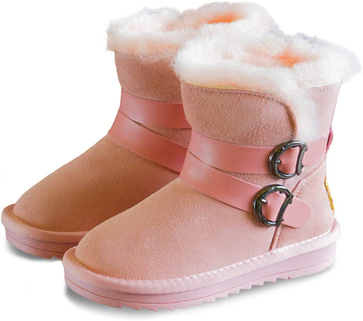 Believed Winter Baby Boys Girls shoes Kids Snow Boots Warm Cotton shoes