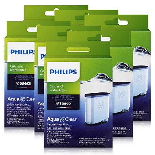 Philips CA6903/10 AquaClean Wasserfilter für Saeco Philips Automaten (7er Pack)
