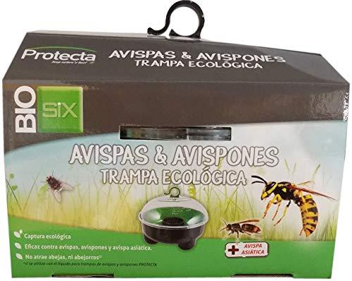 FACO-Trampa Ecológica de Plástico Resistente para Captura de Avispas y Avispones (Requiere Líquido Atrayente)