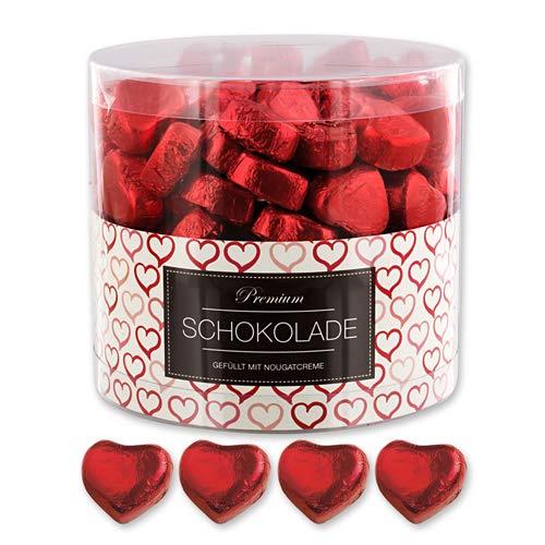 150 Rote Schokolade Herzen Paris
