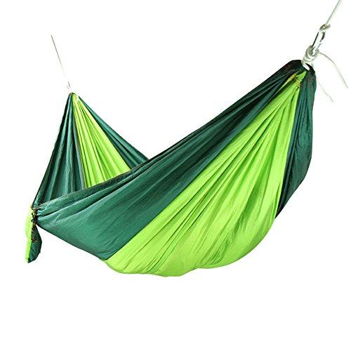 MONEYY Ascenseur comme Couvre-Lits Chambre Double Parachute est Une Grande Entreprise Outdoor Camping hamacs sur Ficelle 260 * 140cm
