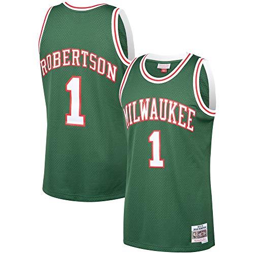 Oscar Robertson Milwaukee Bucks 1971-72 Hardwood Classics Swingman Jersey (Large)