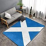 Scottish Flag Kitchen Rug Memo...