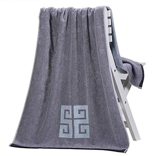 Forever S Toallas de baño Toallas de baño, 150 × 73 cm Toallas de baño Grandes, Toallas de Playa para Hombres y Mujeres, Toallas de Gimnasio de algodón Grueso Toallas (Color : A)