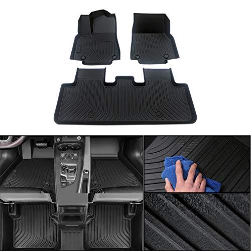 FußmattenGummi Set für Subaru Outback 2015-2019 5-Sitze FussmattenAll-SchutzTPEwasserdichterutschfest Fußmatte Auto Zubehör Matten