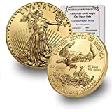 2020 1 oz Gold American Eagle BU In Coin Flip With...