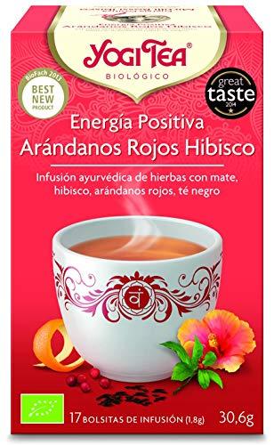 (2 Pack) - Yogi Tea - Positive Energy | 17 Bag | 2 PACK BUNDLE by YOGI TEAS - AYURVEDIC