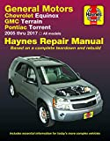 Chevrolet Equinox (05-17), GMC Terrain (10-17) & Pontiac Torrent (06-09) Haynes Repair Manual (Haynes Automotive)