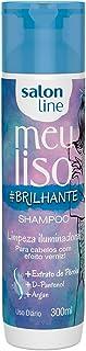 Shampoo Uso Diário 300ml Meu Liso Brilhante Unit, Salon Line