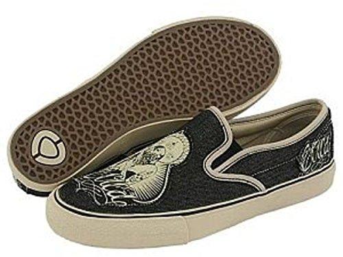 Circa Skateboard Schuhe 50 Slips Black/Cream/Chola, Schuhgrösse:39M