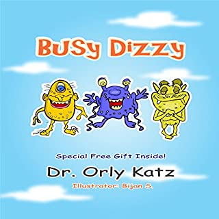 Busy Dizzy audiobook cover art