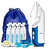 New! 2020 Model Mypurmist Free Ultrapure Handheld Personal Steam Inhaler (Cordless), Vaporizer and Humidifierwith Free Hands-Free Holder
