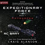 Renegades     Expeditionary Force, Book 7              By:                                                                                                                                 Craig Alanson                               Narrated by:                                                                                                                                 R.C. Bray                      Length: 17 hrs and 7 mins     856 ratings     Overall 4.8