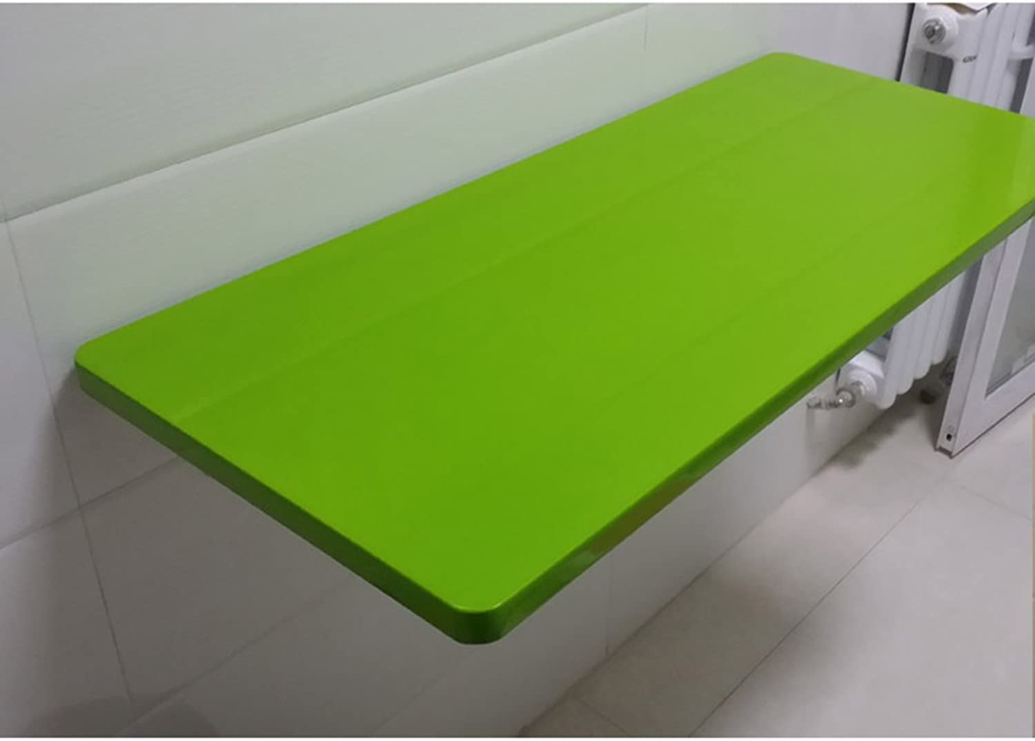 Clapboard Shelf Folding Computer Desk Wall-mounted Laptop Desk color Size Optional ( color   Green , Size   5030cm )