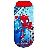 Worlds Apart Marvel Superheroes Spider-Man-ReadyBed júnior-Cama Hinchable y Saco de Dormir Infantil Dos en uno, Rojo, Tamaño: 150 cm (Altura) x 62 cm (Anchura) x 20 cm (Fondo)