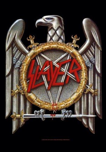 Slayer Eagle Posterflaggen Fahne 75x110cm