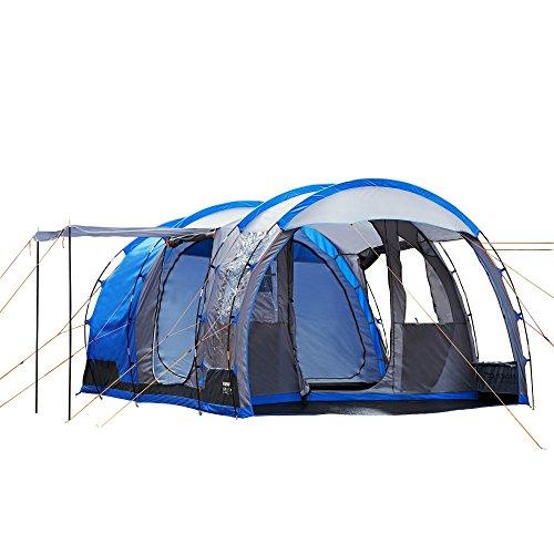 Regatta Great Outdoors - Vanern 4 - Tenda da Campeggio a Tunnel per 4 Persone (Taglia unica) (Blu Oxford)