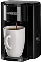 Black and Decker Espresso Coffee Machine One Cup Coffee for Drip with Coffee Mug Best Coffee Home & Kitchen DCM25N-B5 Jet ...