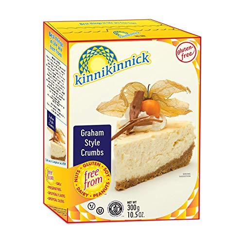 Kinnikinnick Crumbs - Graham Style Gluten Free, 10.5-Ounce (Pack of 3)