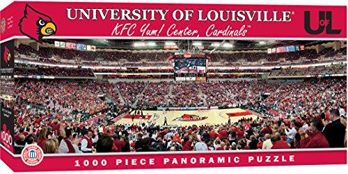 MasterPieces NCAA Panoramics 1000 Puzzles Collection - Louisville Basketball NCAA Panoramics 1000 Piece Jigsaw Puzzle