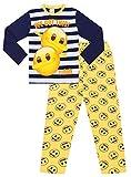 We Got This Emoji #Dab Langer Schlafanzug für Jungen und Mädchen Gr. 10-11 Jahre, blau
