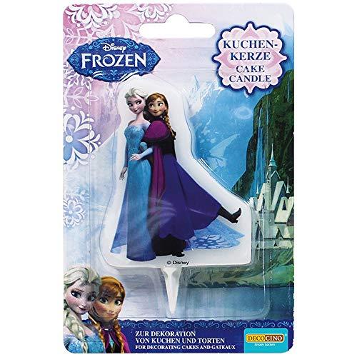 Dekoback 32205, Candela per Torta Frozen Elsa & Anna