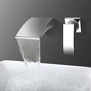 Yadianna Silver Digital Display Copper Faucet Digital Display Basin Faucet Bathroom Washbasin Bathroom Beautiful Practical