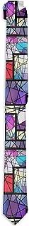 Men's Necktie Classic Abstract Mosaic Unique Fashion Business Tie