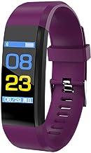 UIEMMY slim horloge Smart Polsband Smart Watch Fitness Tracker Gezondheid Hartslagmeter Smart Band Tracker Armband Waterdi...