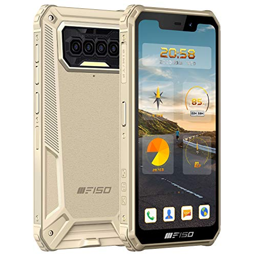 Rugged Smartphone IIIF150 B2021 IP68 In Offerta, 5.86' HD+ 8000mAh 6GB+64GB Octa-core Impermeabile Antiurto,[13MP+2MP+2MP]Quadrupla Camera 4G Dual SIM Android 10 Cellulare Indistruttibile GPS NFC