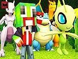 Clip: Catching Celebi in Pokemon Go Minecraft