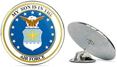 My Son is in The US Air Force Seal Pride Military Veteran USA Pride Served Gift Metal 0.75
