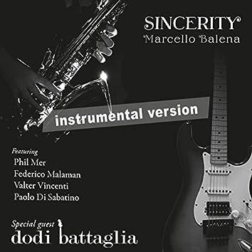 Sincerity (Instrumental Version (no Guitar))