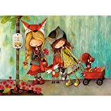 zhangsh Paint by Numbers Set DIY Adult Painting Kids Low-Level Skills Ventas Art Home Decoration-No Frame-40x50cm
