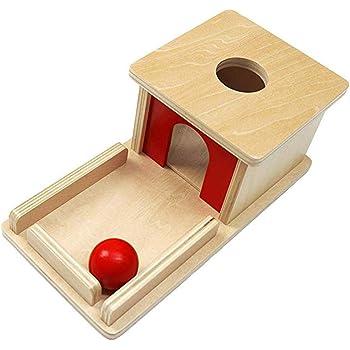 Juguetes para Niños, Caja De Permanencia De Objetos Montessori ...