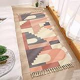 SunYe Floretes De Dibujos Animados Jarrones Alfombras Impresas Tapetes De Noche Gruesos Y Lavables Adecuados para Dormitorios Pasillos Mantas Decorativas Colgantes Rectangulares